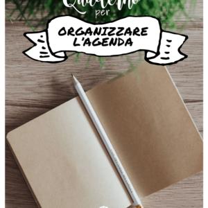 Quaderno per organizzare l'agenda