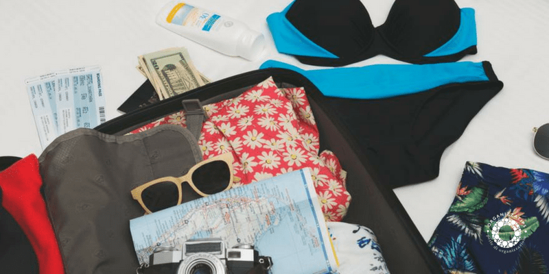 organizzare le valigie