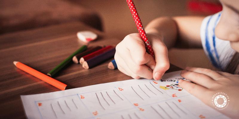 Fare i compiti di scuola senza fatica