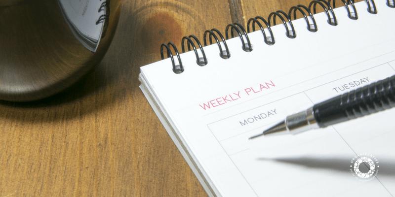 Come compilare il planner con l'orario settimanale di scuola
