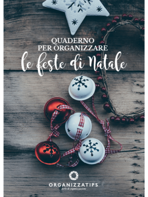 Quaderno per organizzare le feste di Natale