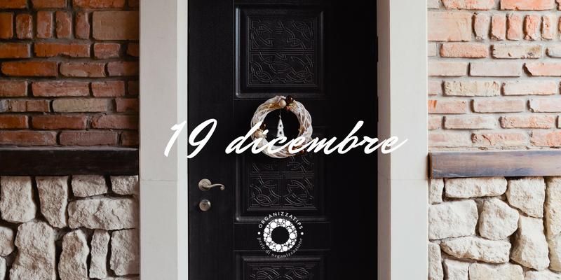 19 dicembre 2019: non disturbare! Lavori (natalizi) in corso