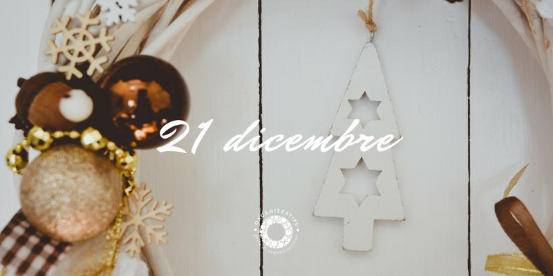 21 dicembre 2019: riordinare le decorazioni natalizie