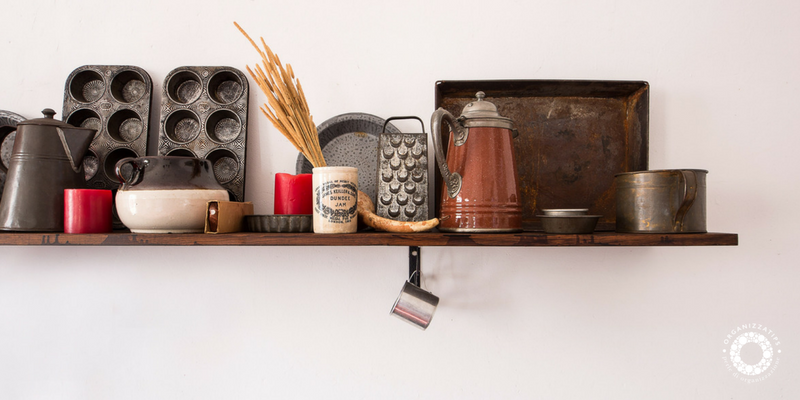 Cucina organizzata: decluttering in cucina