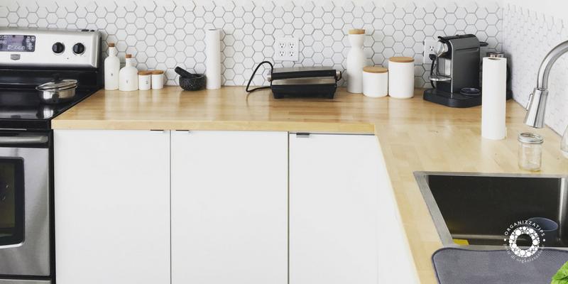 Cucina organizzata: gestire gli spazi in cucina