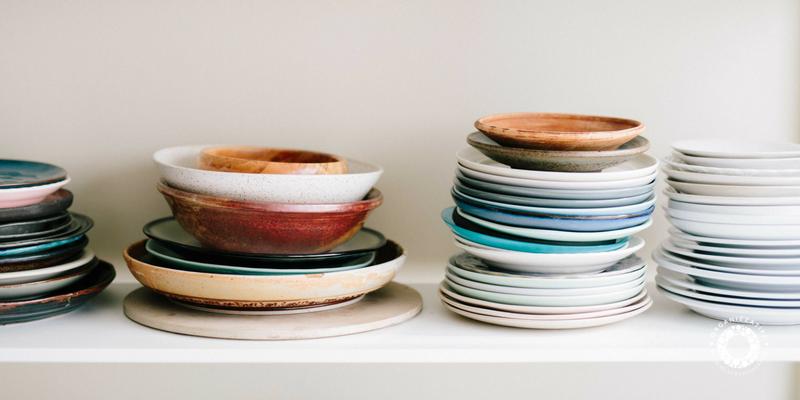 Cucina organizzata: tutto a vista