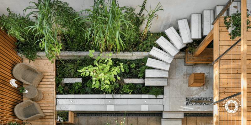 Spazi all'aria aperta: organizzare il balcone e il terrazzo