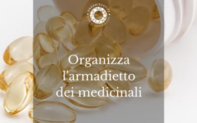 10 ottobre: controlla l'armadietto dei medicinali