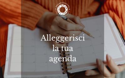 14 ottobre: alleggerisci la tua agenda