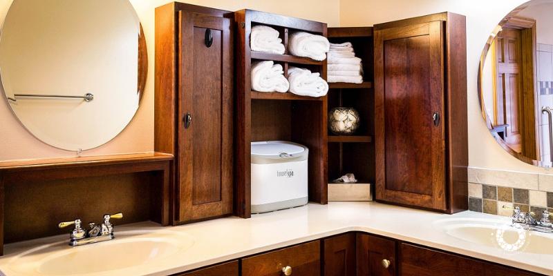 Organizzare i mobiletti in bagno